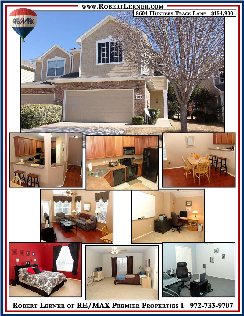 8604 Hunters Trace Lane.Plano, Texas Page 1